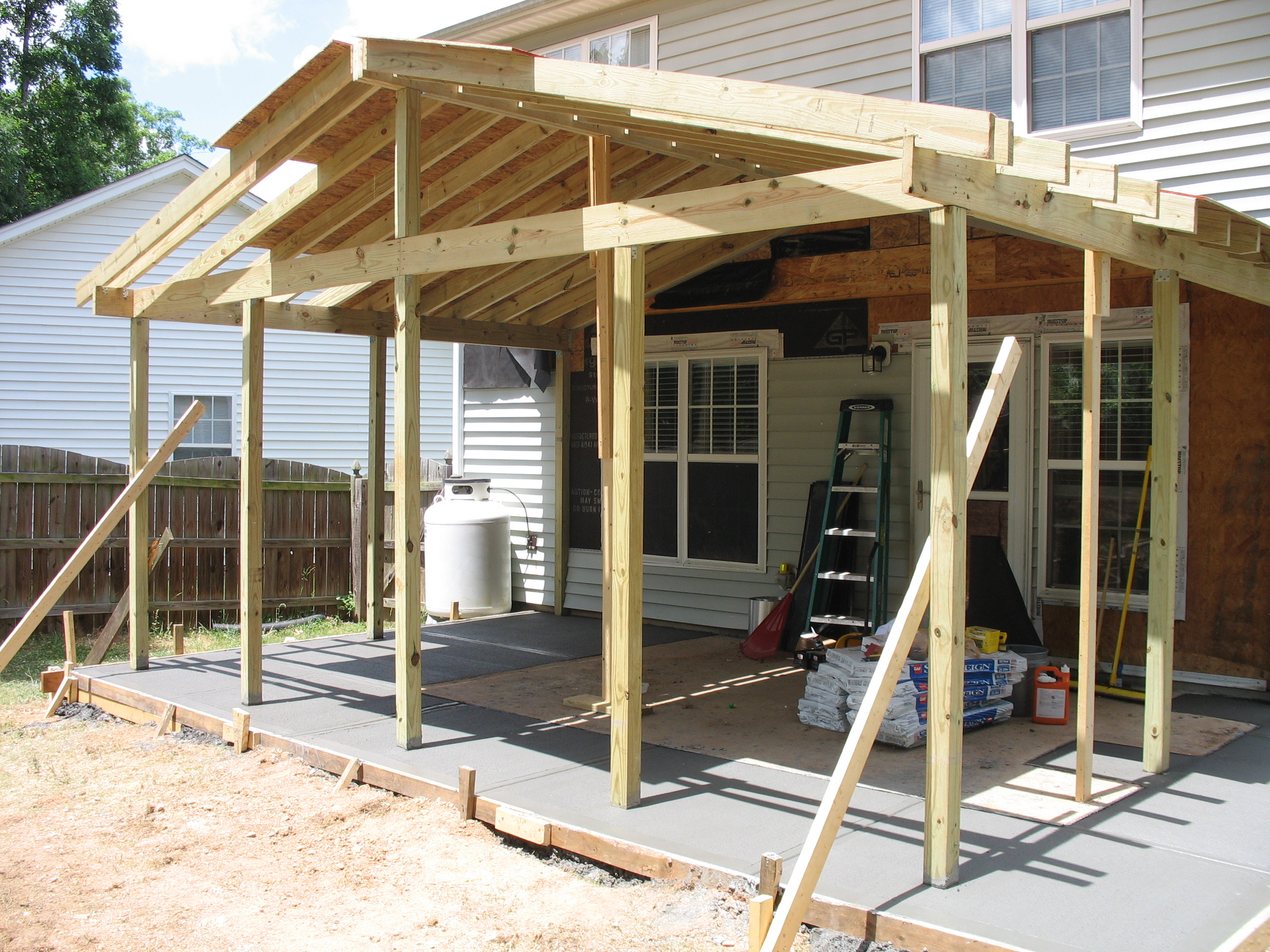 porch will builder screenporchcedararches screened from birmingham adding porches your build what scratch builde we be