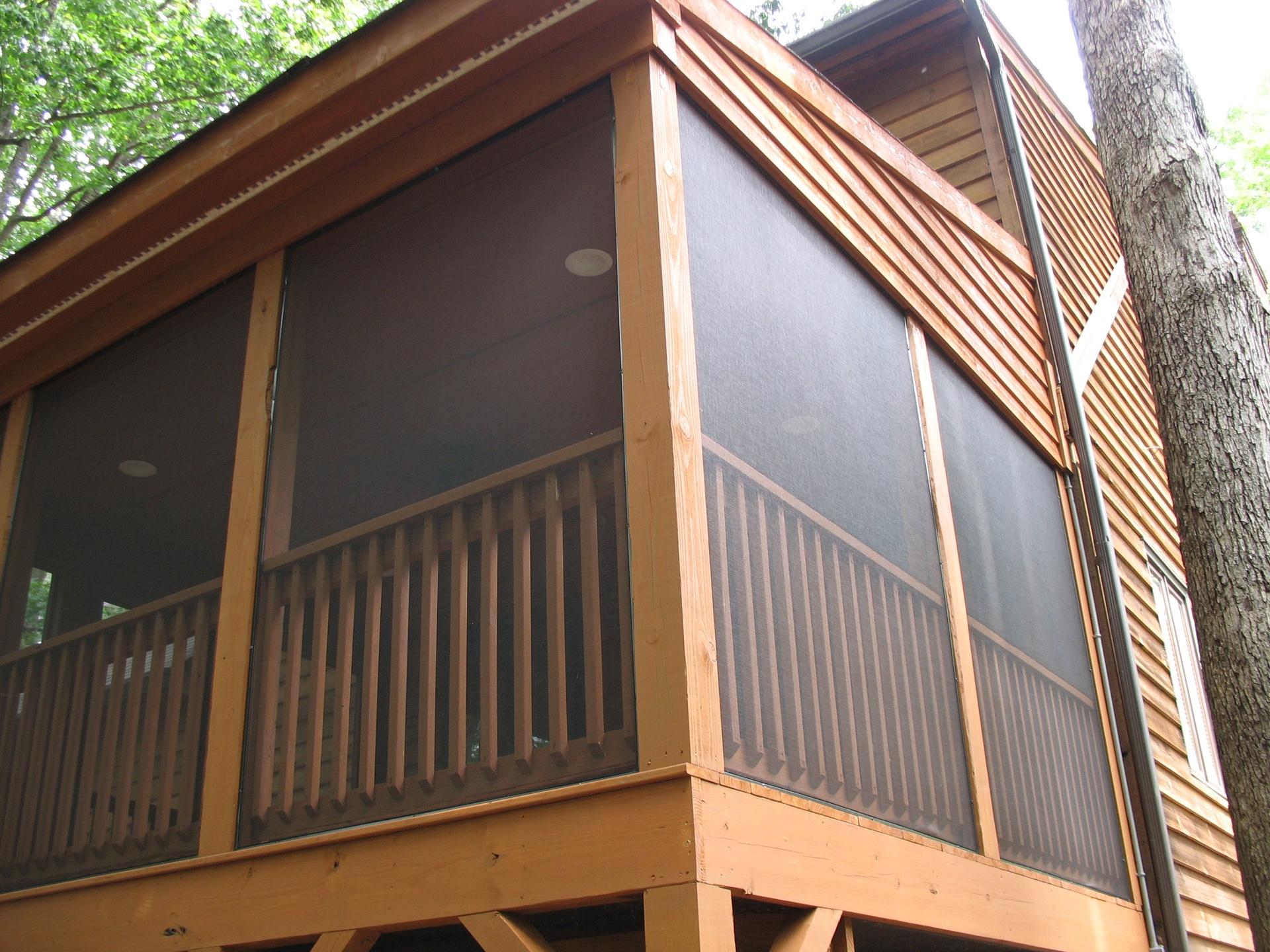 Apex North Carolina Screened Porch Istallation