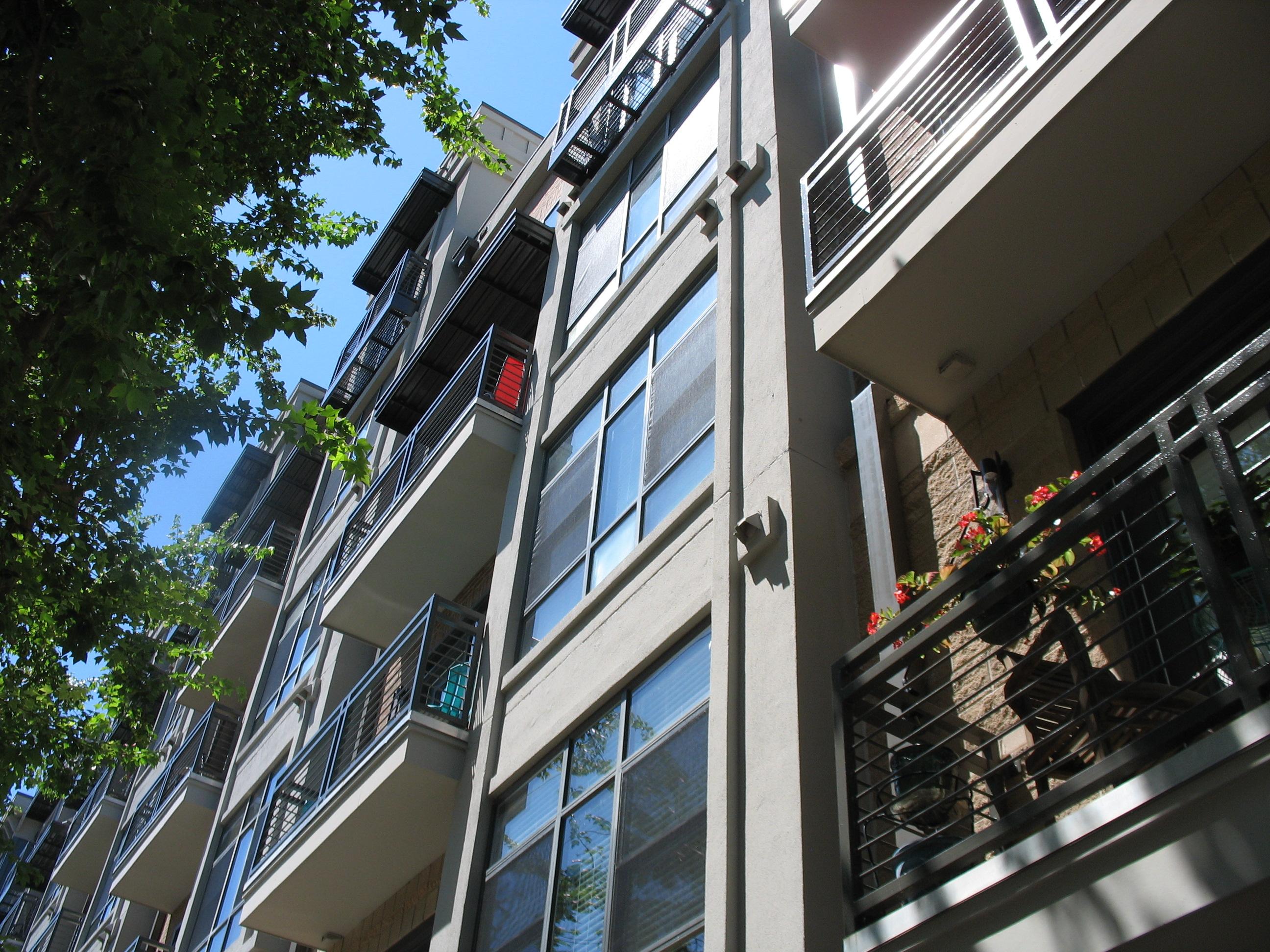 Apartment window screens and sliding screen doors