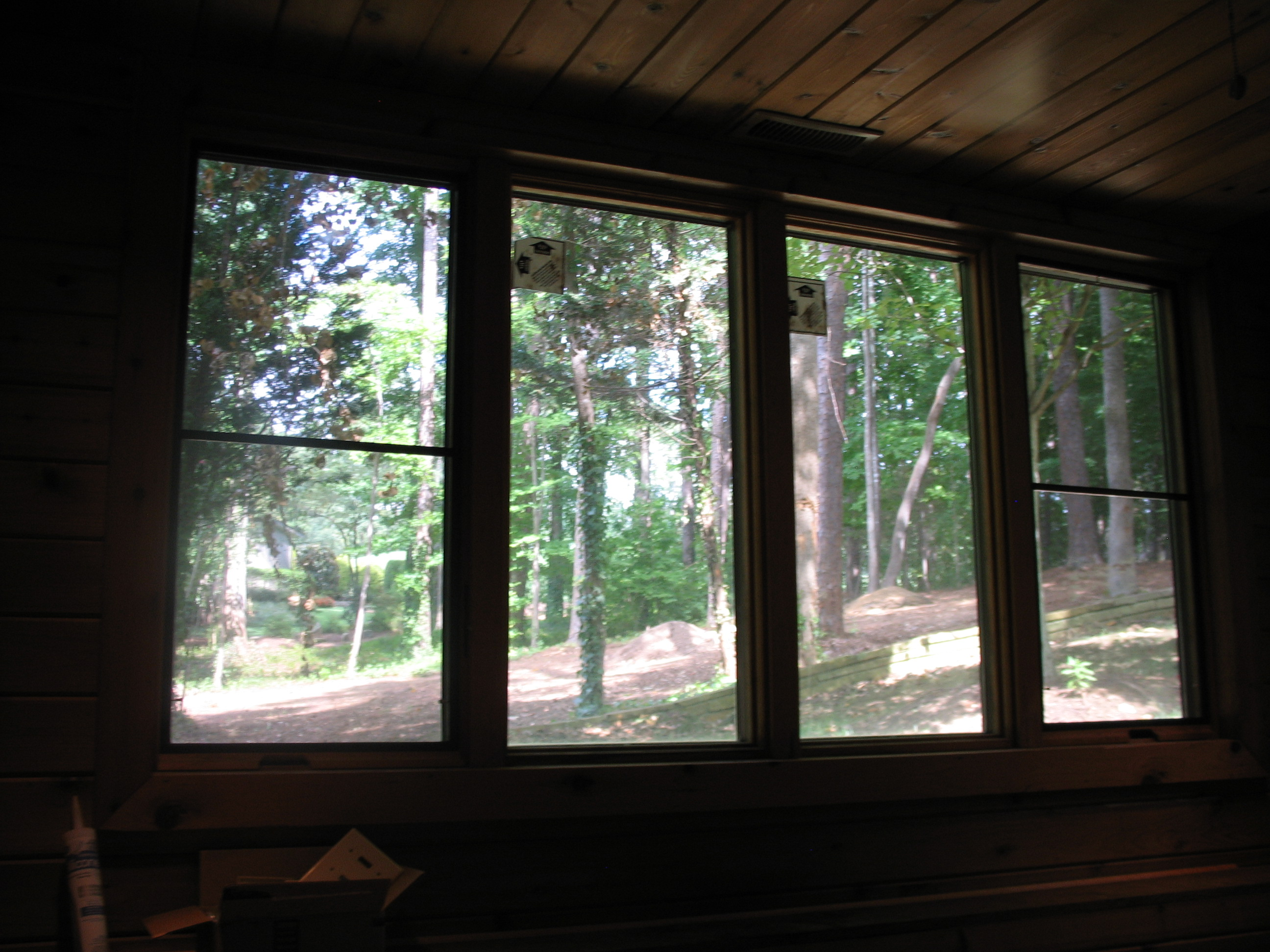Macgregor Downs Cary Nc Pool House Window Screen Install