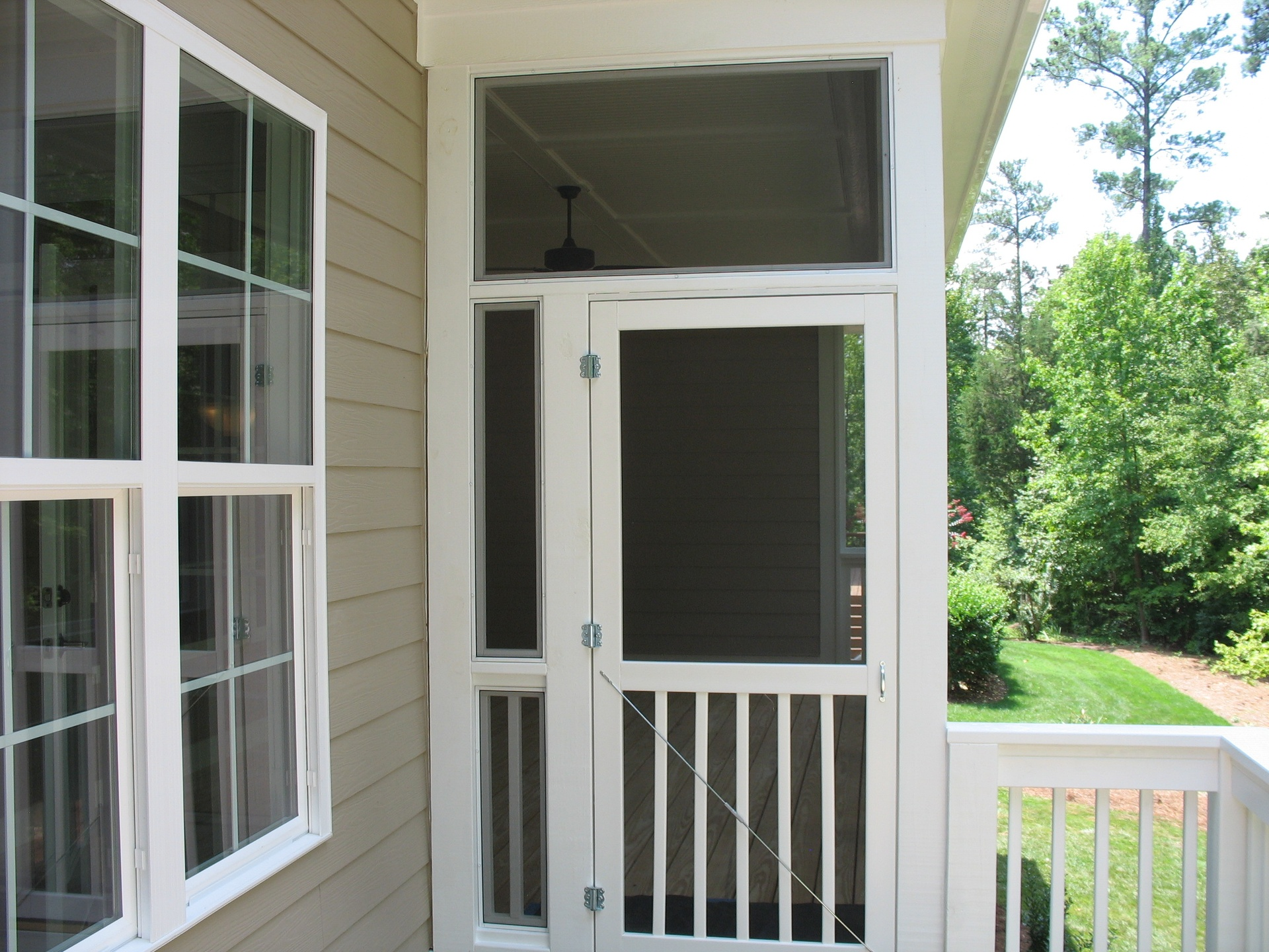 Raleigh Nc Removable Screened Porch Panels Built New Replacement